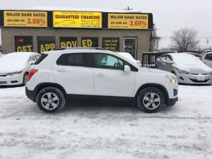 2014 Chevrolet Trax GUARANTEED FINANCING BE APPROVED TODAY!!