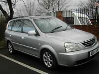 2005 MANUAL KIA CARENS LE 2.0L CRDI in SILVER 1 OWNER FROM NEW. SORN. NO MOT BUT PLEASE READ BELOW