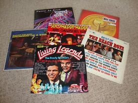 6 ORIGINAL VINYL ALBUMS FROM ARTISTS SUCH AS BEACH BOYS ETC.