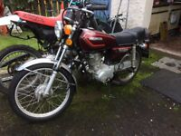 Honda CG125.