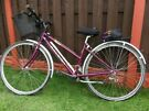 """Ladies 28"""" bike Raleigh with pump can deliver for a small charge"""