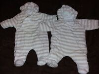 baby mothercare all in one coat newborn.