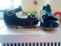 Infant girls size two shoes