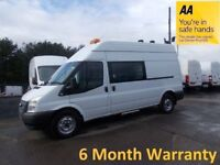 Ford Transit 350 RWD 2.2 TDCi 125 LWB H/Roof Mess Unit**STRAIGHT FROM LEASE Co***