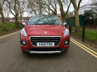 Automatic| 2015 Peugeot 3008 1.6 BlueHDi Allure 5dr |Full Service History | Hpi Clear | 2015 Peugeot