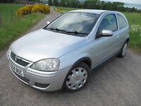 Vauxhall Corsa Design 1.2 16V Years MOT Air Con only 65K £1,575 ono