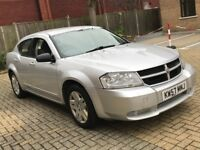 2008 DODGE AVENGER DIESEL MANUAL RARE 5 SEAT SPACIOUS MOT USA AMERICAN FAMILY CAR N SEBRING CHARGER