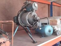 antique air compressor