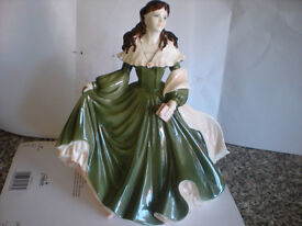 Coalport figurine Biddy the cathrine cookson collection limited edition