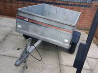 camping trailer . with brand new fitted tyers