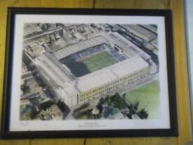 Tottenham Hotspurs framed pictures