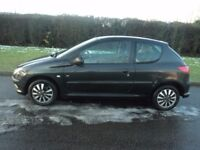 04'peugeot 206 1.1cc cambelt changed new battery