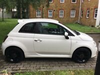 Fiat 500s 1.2l 2 previous owners - aircon - 28930 mileage - low tax - fully service/MOT April 2018