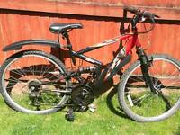 Apollo full suspension mountain bike adult