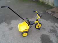 Sunbeam Digg Trike Designed by Raleigh Kids Childs Boys Brand New Fully Built located bridgend Area