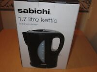 Brand New Sabichi 1.7 Litre Kettle In Black