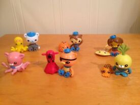 Octonauts Figures and Colour Changing Sea Creatures