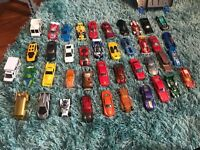 Hot Wheels cars and track for sale