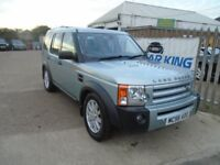 LAND ROVER DISCOVERY 3 2.7 TD V6 SE 5dr Auto (silver) 2006