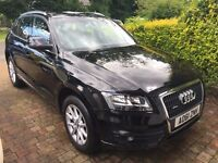 Audi Q5 S-Tronic 2.0 TDI 170 Quattro SUV, SE with Sat Nav and Leather – One previous Owner