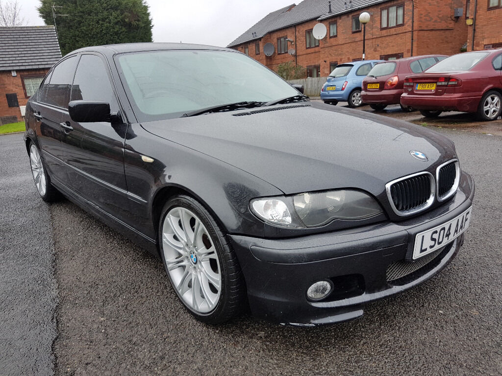 bmw 320d m sport 2004 54 plate mot october 2017 in. Black Bedroom Furniture Sets. Home Design Ideas