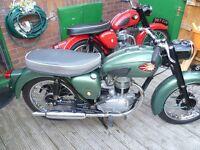WANTED BRITISH MOTORCYCLES