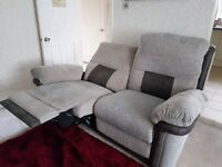 2-Seater Electric Reclining Sofa