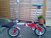 Like new Oyama folding bike only £125