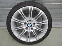 "1 BMW 3 Series E46 18"" MV2 Rear Alloy Wheel with Arrowspeed 255/35/18 tyre."