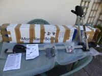 MONTBLANC SCOTT ROOF RACK CYCLE CARRIERS(X 2)-FIT ON EXISTING ROOF RACK; LOCKS 2 BIKES SAFELY ON TOP