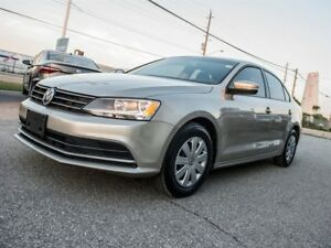2016 Volkswagen Jetta LOW, LOW KILOMETERS!! ROOM TO SPARE!!