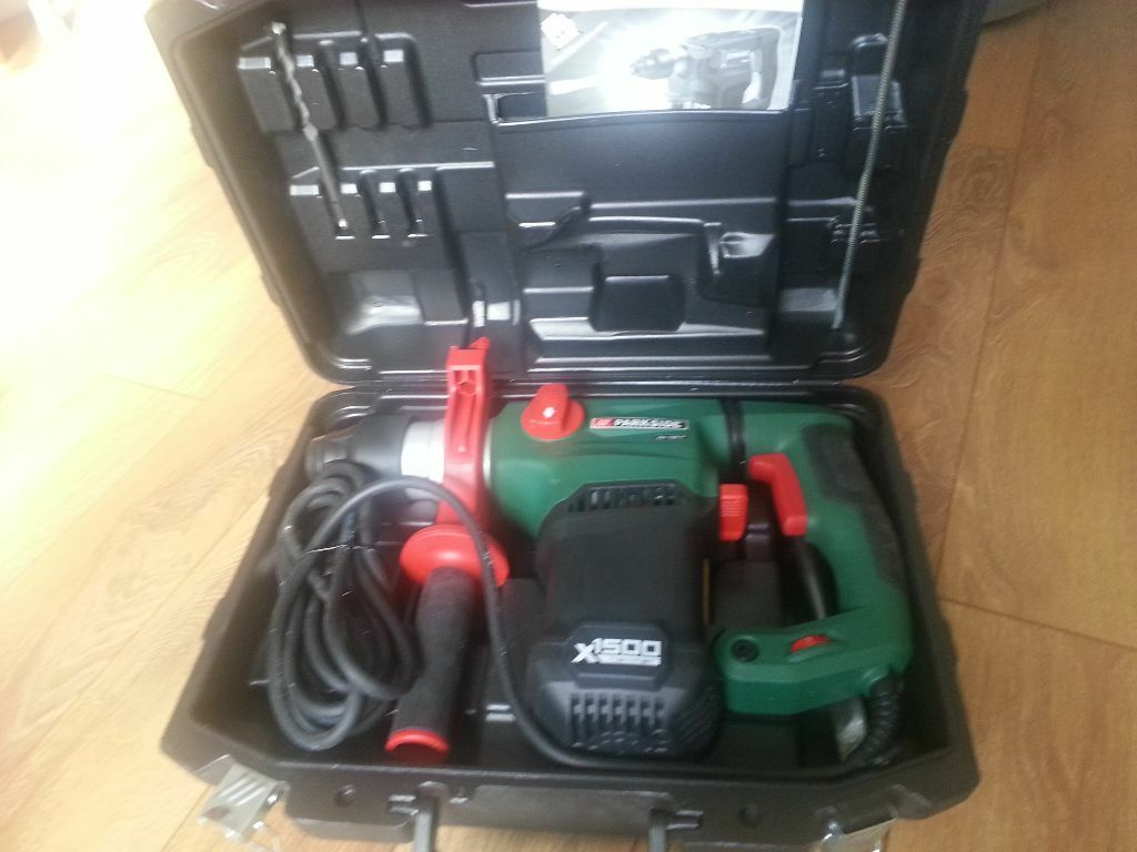 Parkside Hammer Drill Pbh 1500 A1 New Angled Bit