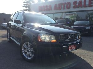 2005 Volvo XC90 7 PASSENGER 4.4L AWD w/3rd Row  LOW KM LEATHER S