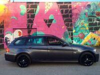 57 BMW 318D Edition Sports SE Touring Grey,Audi,Bmw,VXR,AMG,Mercedes,St,Vrs