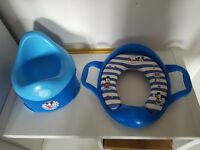 Mickey mouse mothercare potty and training seat