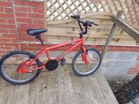 Trax Bmx in good working condition