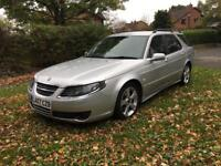 2007 07 PLATE SAAB 9-5 2.3 AERO HOT ESTATE AUTO 260 BHP