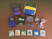 Game Boy Color, Games & accessories