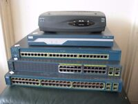 6 CISCO Routers & Switches