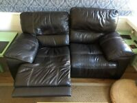 Sofology/CSL Empire 2 Seater Leather Recliner Sofa (Non recliner also available)