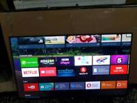 """Sony KD49X8305C 49"""" 4K UHD Android Smart Freeview Freesat HD LED"""