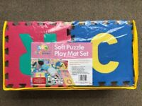 TLCmat Soft Alphabet & Number Puzzle Play Mat Jigsaw 36pcs (A-Z & 0-9)