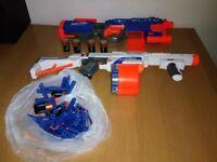 Toy Guns TWO Nerf gun Elite & Nerf Retaliator