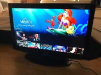 Samsung 37 inch LCD TV, 3xHDMI, Freeview, PC in