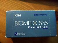 Biomedics 55 Contact lenses -3.75