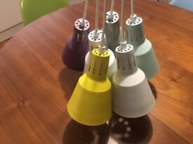 Pendant Light in excellent condition with included 6 LED dimmable bulb