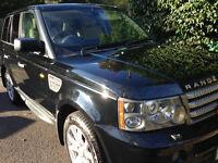 Range Rover Sport HSE 2.7 Black with Alpaca Premium Leather Interior