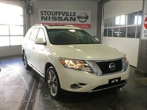 Nissan Pathfinder platinum loaded dual dvd, navi nissan cpo 2016