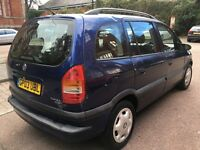 BARGAIN!!!!! 2003 7 seater Vauxhall zafira ((((** REDUCED TO CLEAR **))))