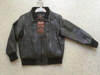 Boy's Leather Jacket 'Aviatrix'